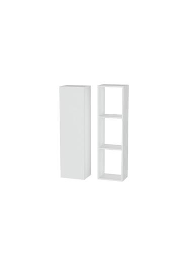 Sanal Mobilya Hayal Çok Amaçlı Dolap Seti 35 Beyaz